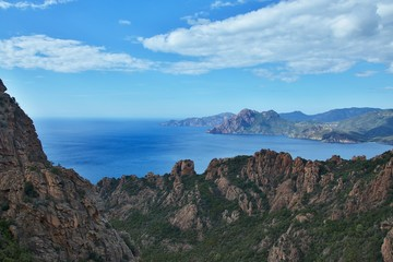 Corsica-outlook at the Calanche