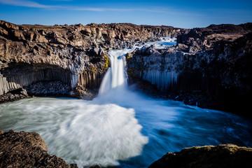 Aldeyjarfoss, waterfall in Iceland