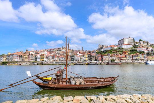 City of Porto from Vila Nova de Gaia