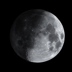 Natural satellite, Moon HDR