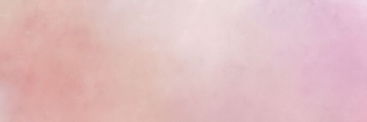 baby pink, tan and misty rose colored vintage abstract painted background with space for text or image. can be used as header or banner
