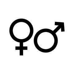 Gender Symbol Icon Vector Design Illustration