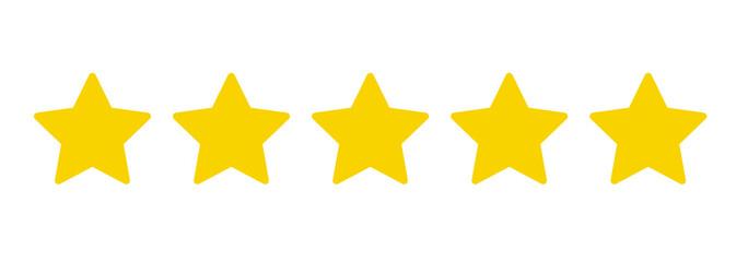 5つ星アイコン