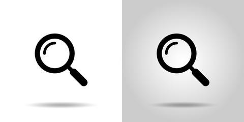 虫眼鏡アイコンセット