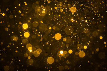 Abstract blur gold sparkle bokeh Fototapete