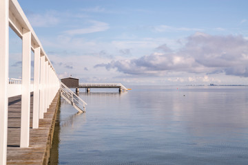 pier on a quiet morning