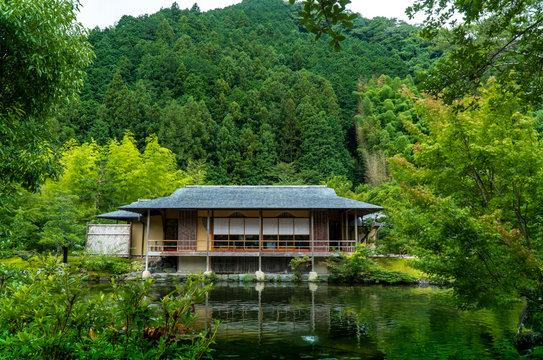 日本建築の茶室と日本庭園「玉露の里」@静岡県藤枝市岡部町