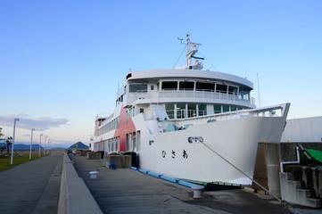 岡山〜直島の船