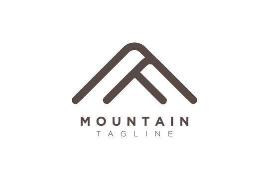 Illustration Vector Graphic of Mountain. Logo and Icon Perfect for Adventure, Travel, Climbing, Exploration, Camping, Tourism, etc.