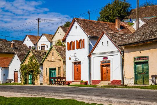 Wine Cellars - Villany, Baranya, Hungary