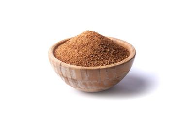 bowl with coconut sugar
