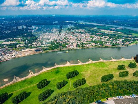 Rhein bei Duisburg, Kasslerfeld