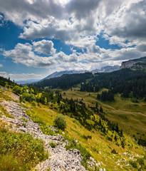 Summer mountain Durmitor National Park, Montenegro