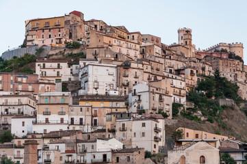 Corigliano Calabro, the historic center of the town, Calabria, Italy, Europe