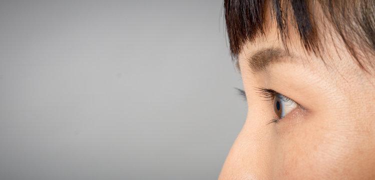 asian eyes macro detail close-up shot