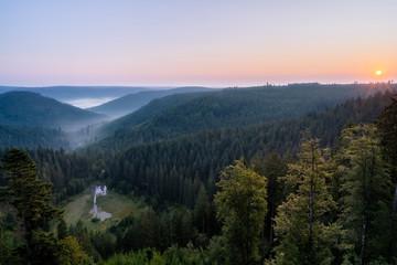 Wall Mural - Ellbachseeblick Sonnenaufgang