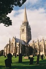 St. Patrick's Church, Patrington, East Riding of Yorkshire.