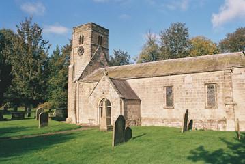 St Nicholas Church, North Grimston, Yorkshire.