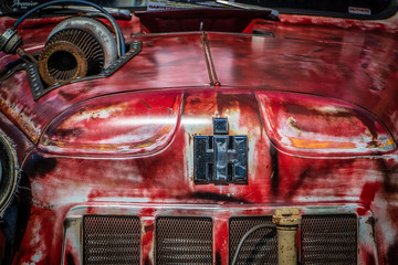 Wall Mural - Rat Rod