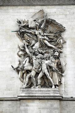 Arc de triomphe de l'Étoile Paris France