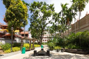 Telok Ayer Green in Singapore