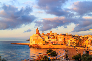 View of Sitges, Spain