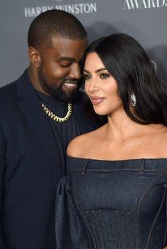 Kanye West, Kim Kardashian West at arrivals for Wall Street Journal WSJ Magazine 2019 Innovator Awards