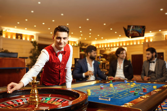 Dealer Casino stock photos and royalty-free images, vectors and illustrations | Adobe Stock