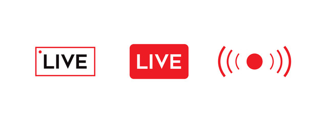 LIVE video icon.