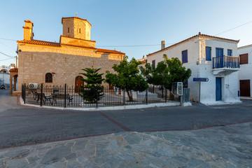 Megalochori village, Agistri.