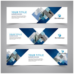 Abstract Header Banner design Vector Background for cover page website and advertising.