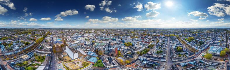 aerial 360° skypano krefeld Wall mural