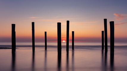 sunset in Petten aan Zee .2