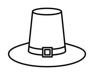 pilgrim hat traditional accessory icon