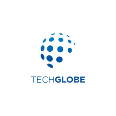 Globe Logo Design related to global industries