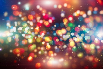 Colored abstract blurred light glitter background layout design can be use for background concept or festival background