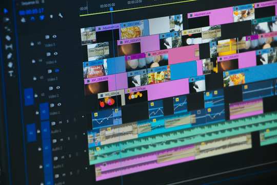 video time line Video Editor Works