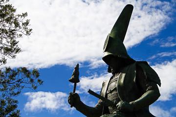 日本 武士道 加藤清正 銅像 名古屋 日本人