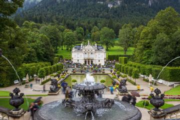Linderhof Palace and its park - Bavaria, Germany
