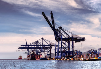 Container Port of Algeciras, Spain
