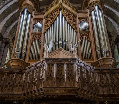 St. David's Cathedral, Pembrokeshire, Wales, UK (Interior)