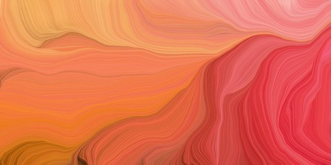 abstract colorful swirl motion. can be used as wallpaper, background graphic or texture. graphic illustration with tomato, coral and crimson colors