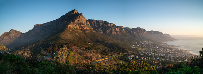Photo sur Aluminium Bleu jean Table Mountain