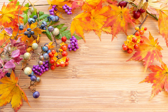 秋の草花アレンジメント