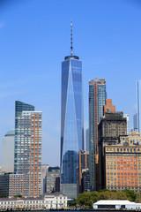 Garden Poster New York 1 WTC, One World Observatory, Lower Manhattan, New York City, New York, United States