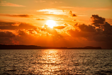 Recess Fitting Magenta sunset-ibiza