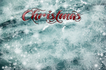 Christmas background with text free space