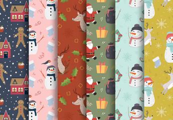Christmas Patterns Set