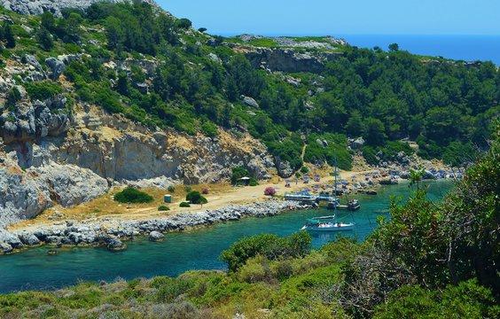 Anthony Quinn Bay in Rhodes