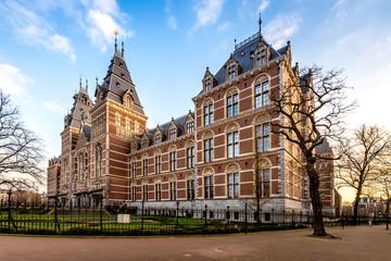 Fototapeten Altes Gebaude Rijksmuseum, Amsterdam, Niederlande